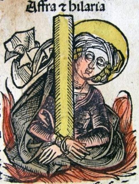 Saint Afra and companions | Faith of Our Mothers